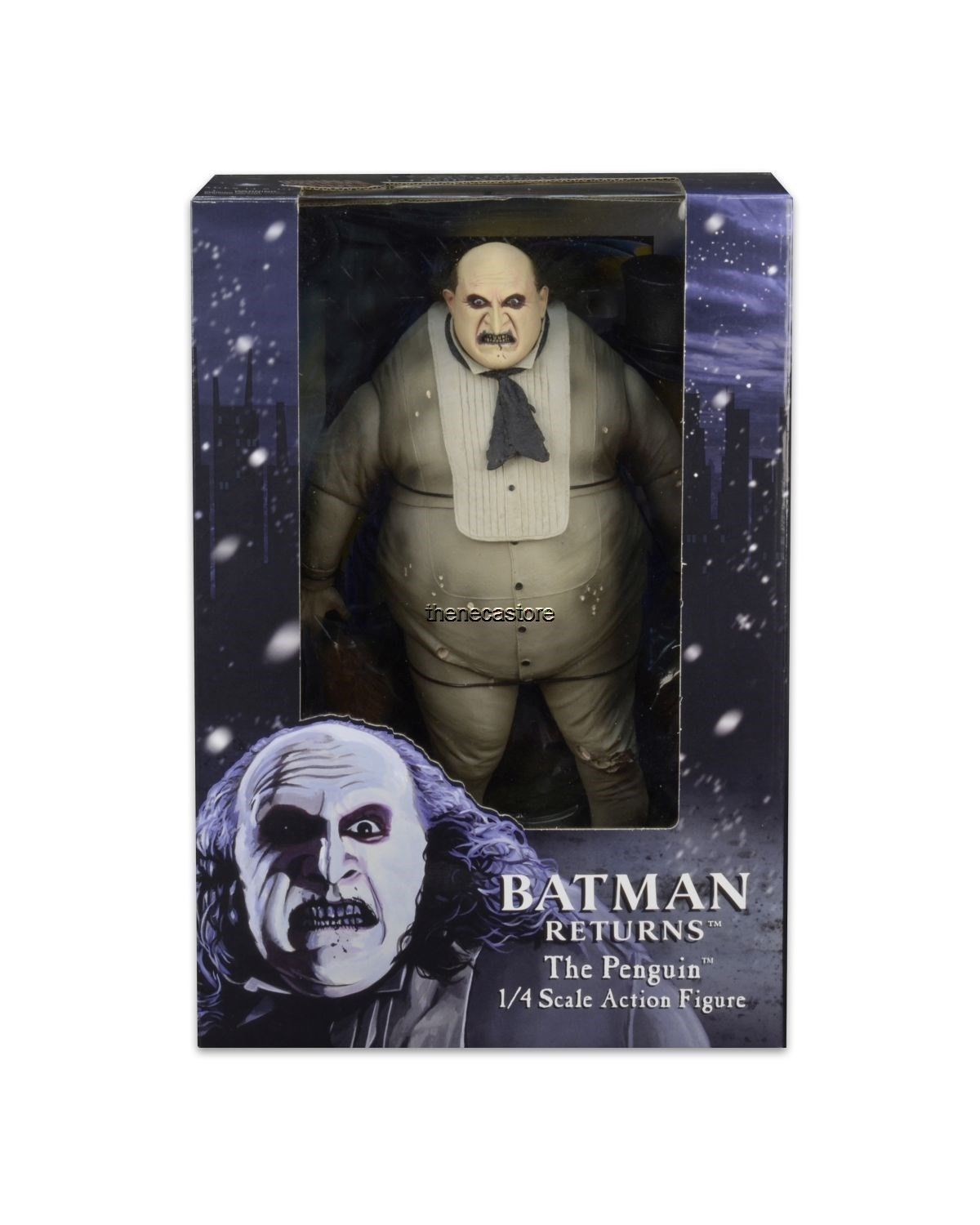 NECA Batman Returns Penguin 1/4 Scale Action Figure Listed On eBay