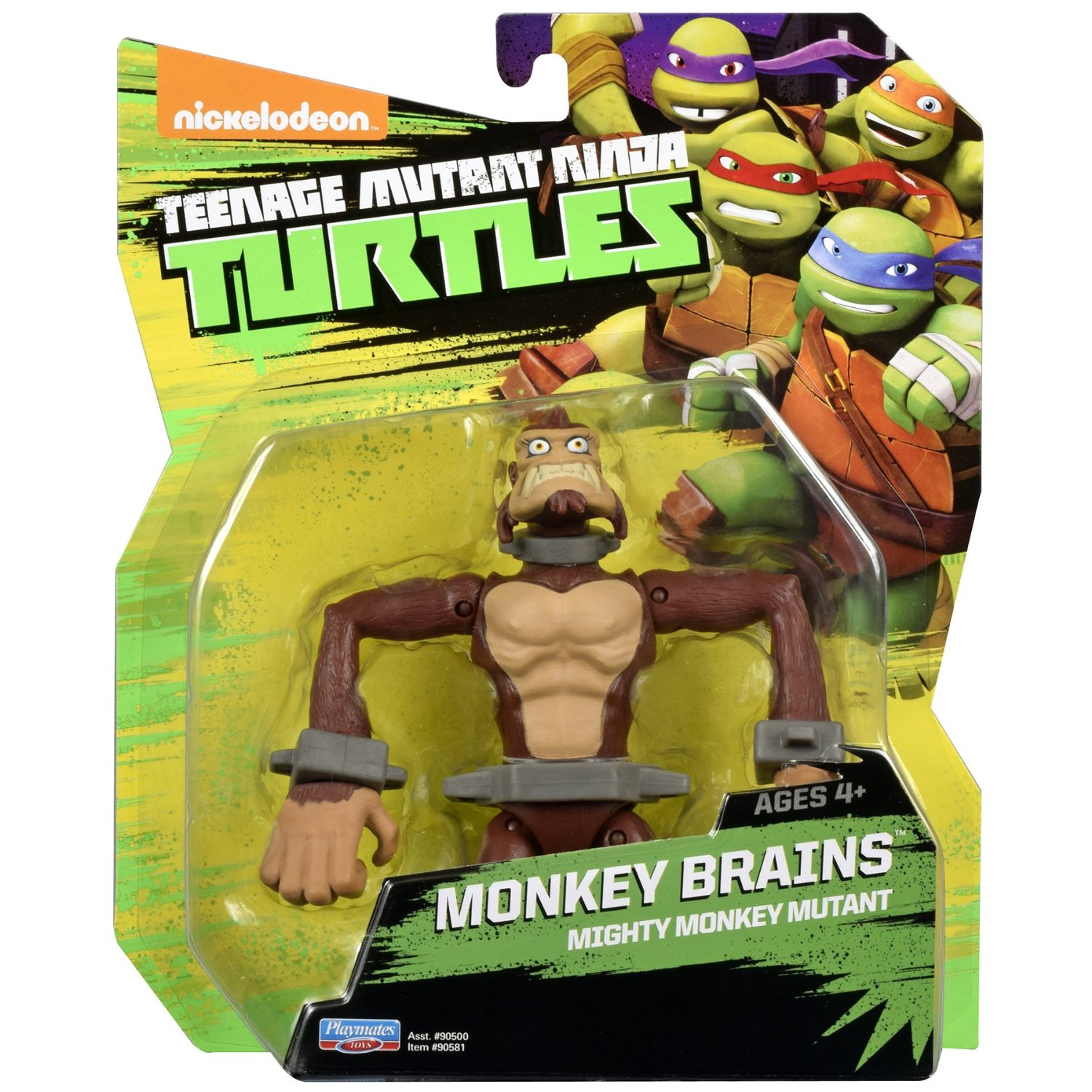 Nickelodeon Teenage Mutant Ninja Turtles Monkey Brains Figure