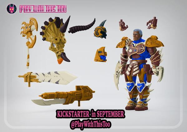Play With This Too Lost Protectors Wastelander Redesigned Render