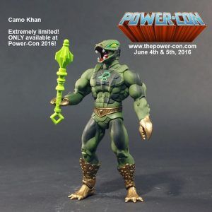 Power-Con 2016 Camo Khan