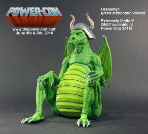 Power-Con 2016 green minicomic Granamyr