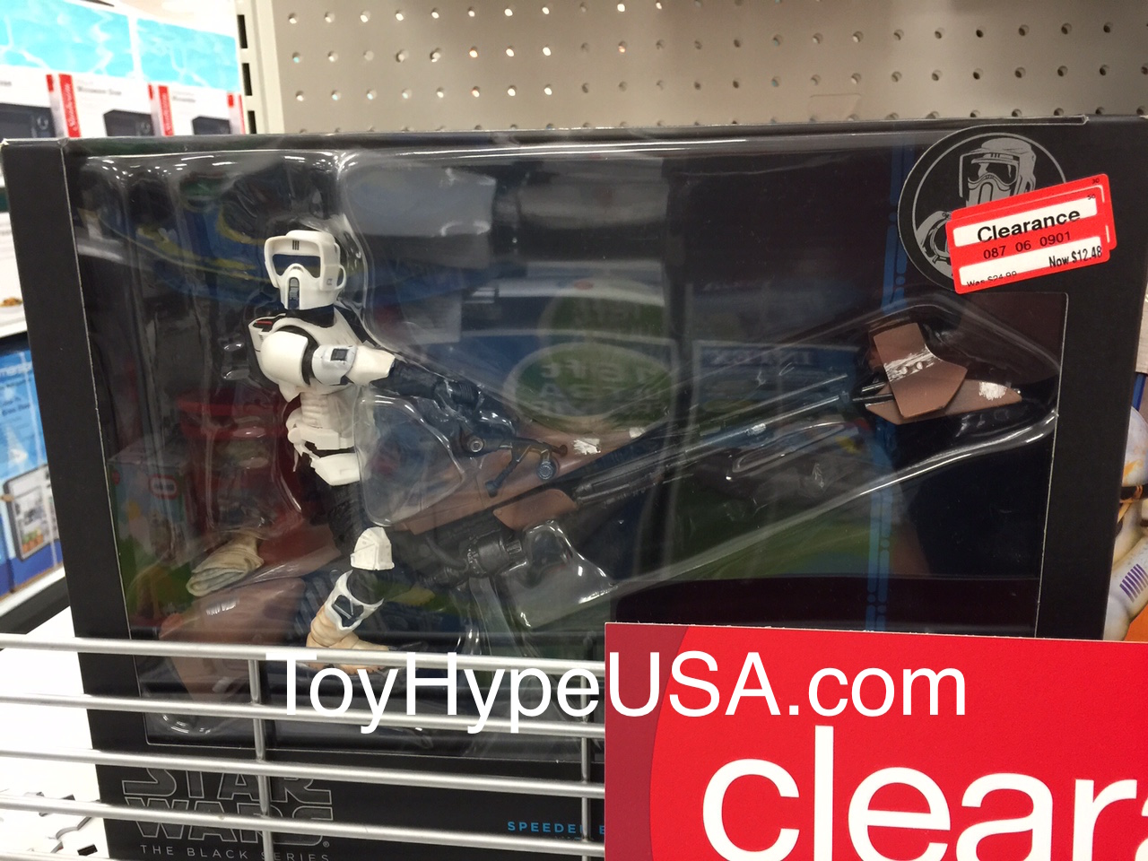 Target Clearances Out Older Star Wars Inventory With Endcap Of Deep Discounts