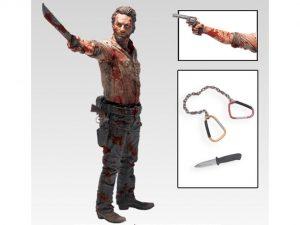 The Walking Dead TV Series Deluxe 10inch Figure - Rick Grimes Vigilante Edition