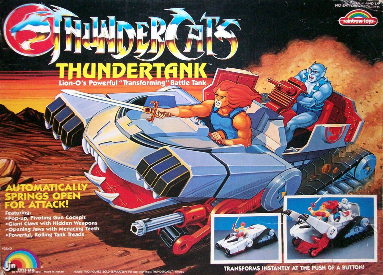 Wishlist Wednesday – Mattel Thundercats Classics 6″ Scale Thundertank Vehicle