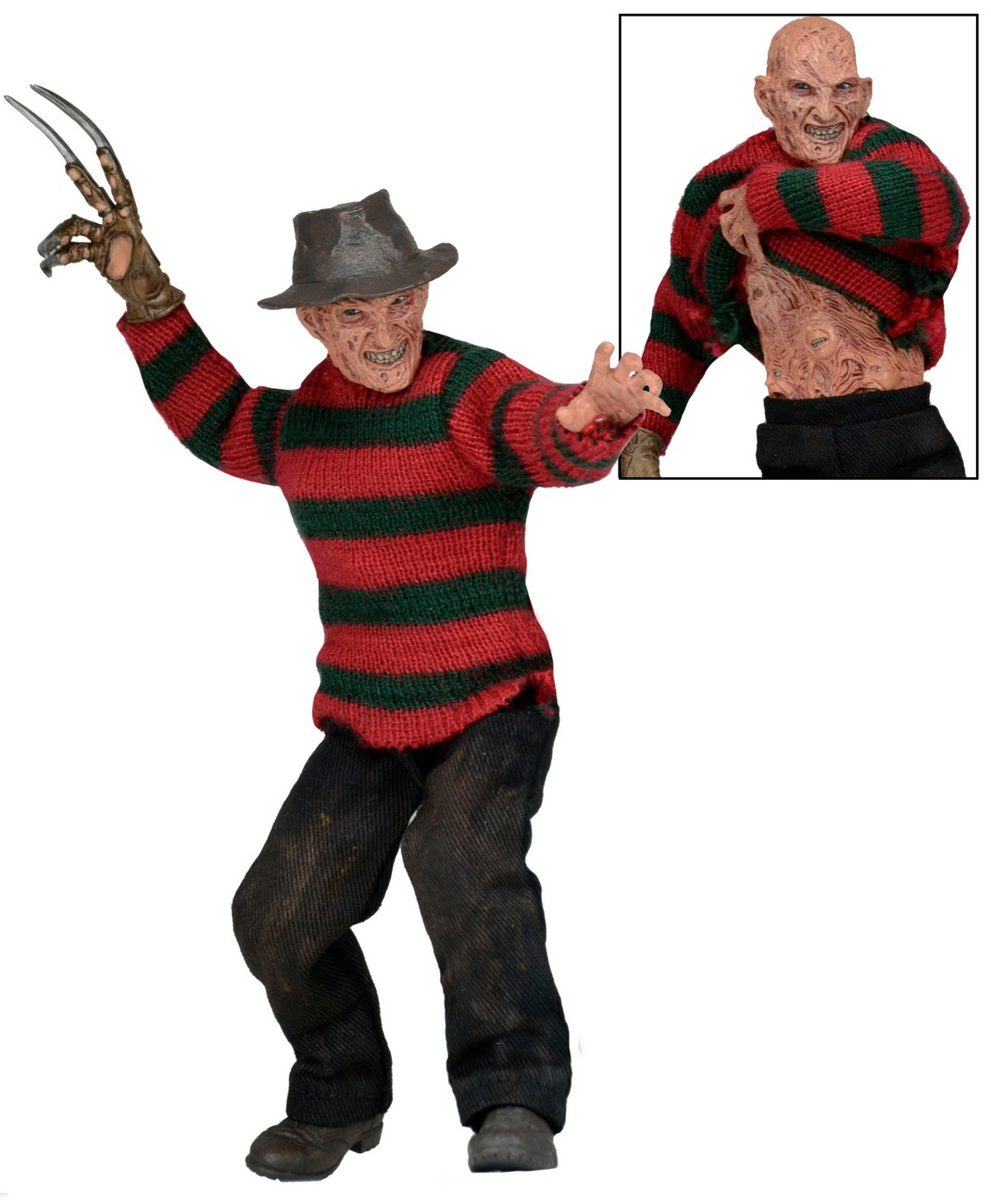 NECA Shipping This Week – A Nightmare On Elm Street Part 3 – Dream Warriors Freddy 8″ Clothed Figure