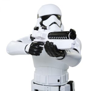 48 BIG FIGS Stormtrooper posed with riffle