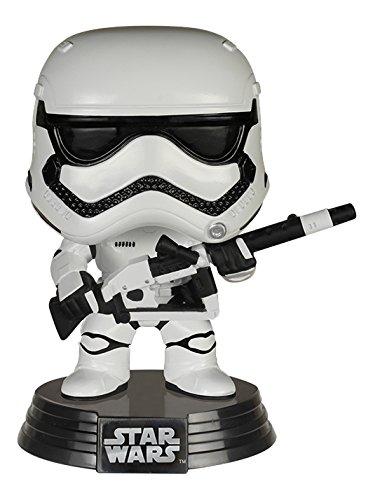 Amazon Exclusive Funko Star Wars Heavy Artillery First Order Stormtrooper Pop! Vinyl Figure In Stock