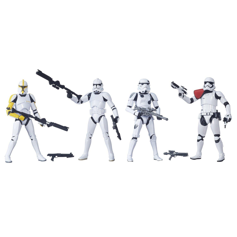 Amazon Exclusive Star Wars TBS 6″ Stormtrooper 4-Pack Now $55