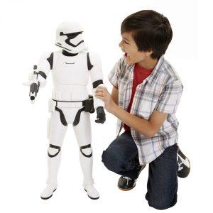 BIG FIGS 31 Massive Stormtrooper with customer