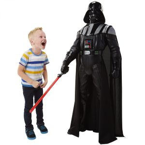 BIG FIGS 48 Colossal Vader with customer