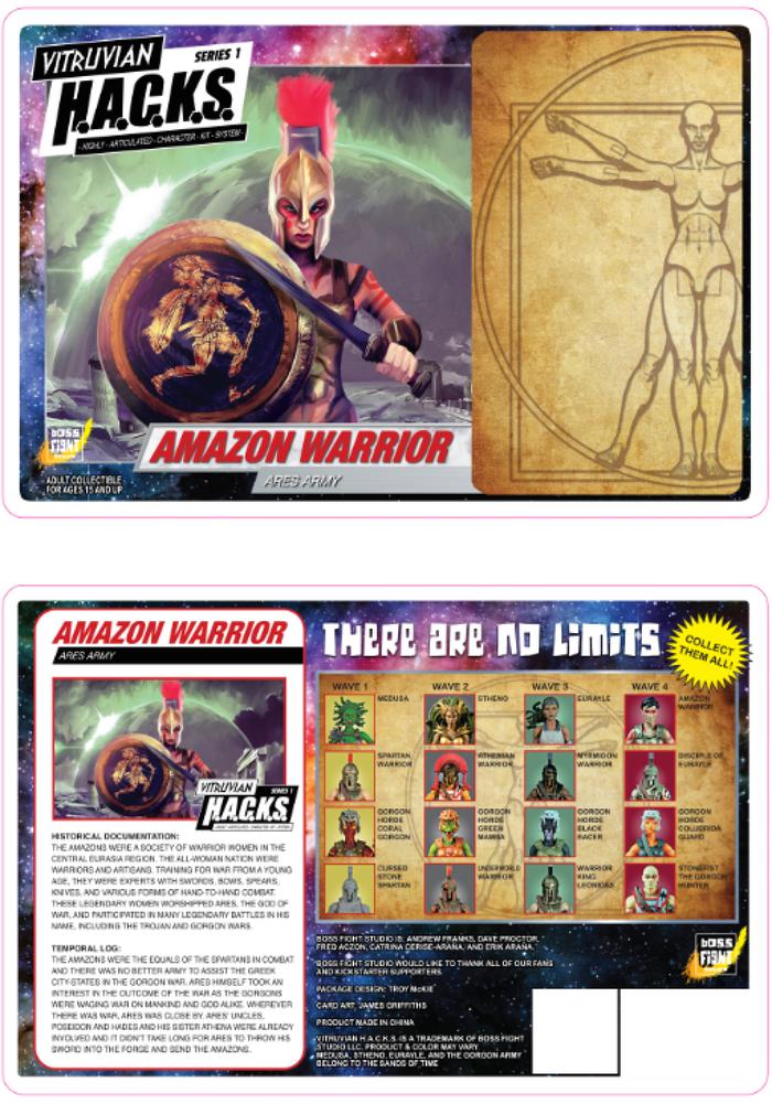Boss Fight Studio Vitruvian H.A.C.K.S. Packaging Art Reveal #4