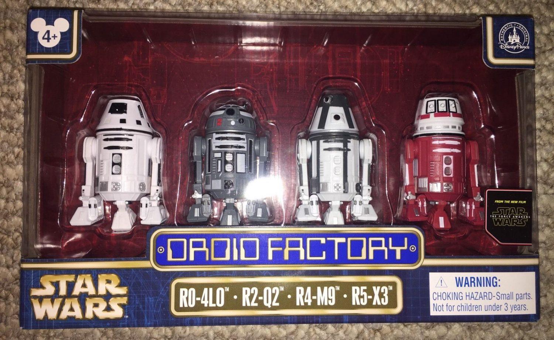 Disney Parks Exclusive Star Wars Astromech Droid Factory Astrodroid Box Set