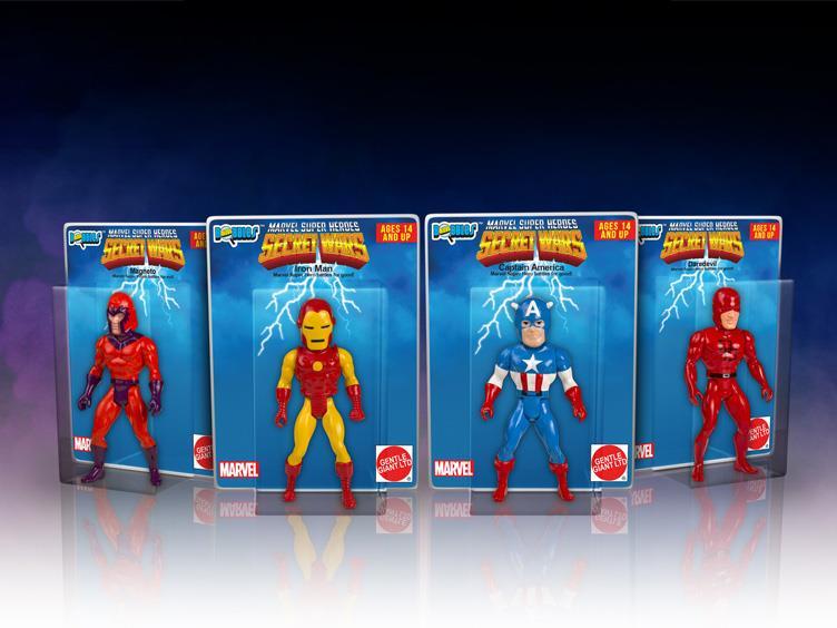 Gentle Giant Marvel Secret Wars Micro Bobble Head Series 2