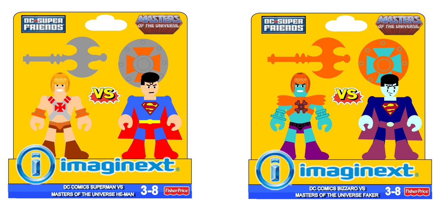 Mattel's Upcoming Imaginext Masters Of The Universe Line Could Use The 3″ Figure Treatment