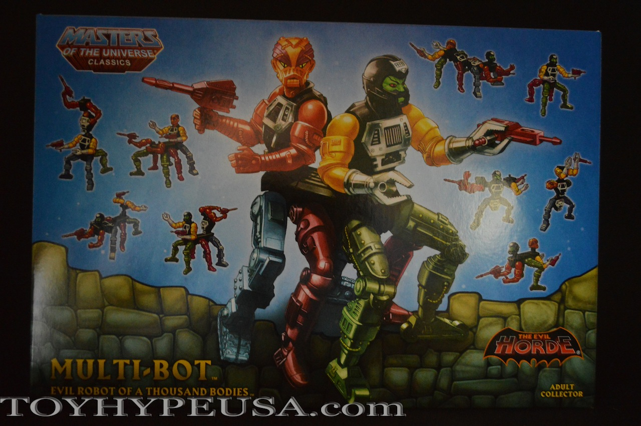 Masters Of The Universe Classics Multi-Bot Review