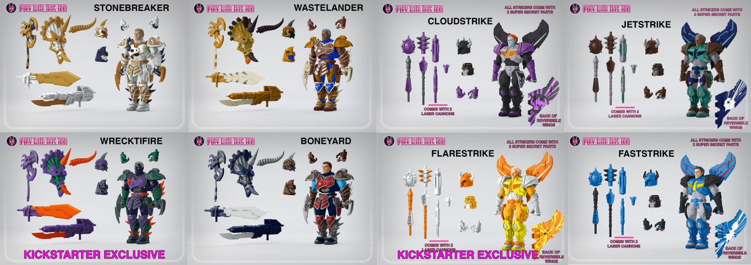 Play With This Too Lost Protectors Kickstarter Campaign At Almost $30,000