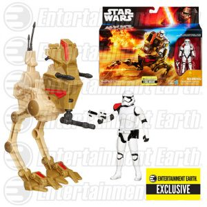Star Wars The Force Awakens Desert Assault Walker with First Order Stormtrooper Officer