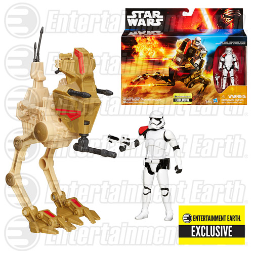 Entertainment Earth Exclusive Star Wars The Force Awakens Desert Assault Walker Now Shipping