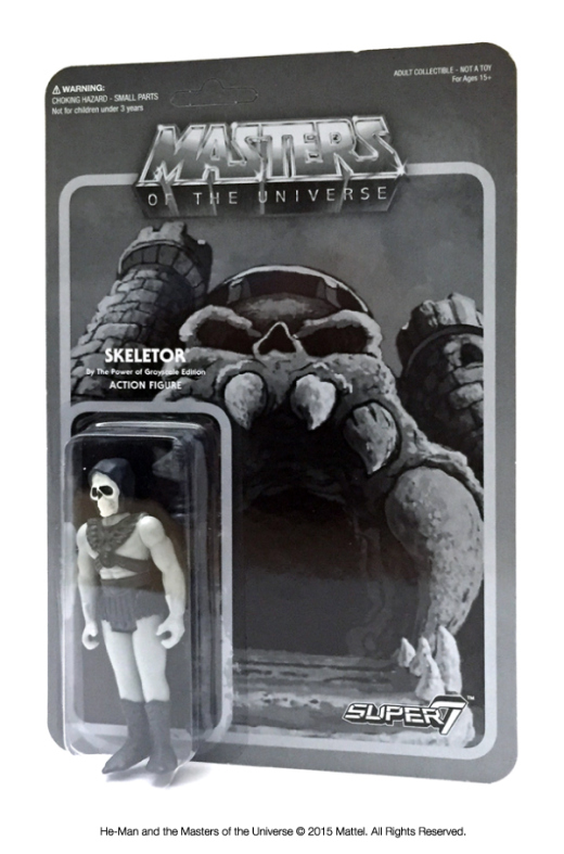 Super7 New York Comic-Con Exclusive Masters Of The Universe ReAction Figures