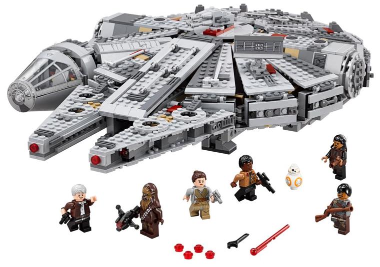 Amazon Cyber Weekend Sale – LEGO Star Wars Millennium Falcon 75105 Set Now $111