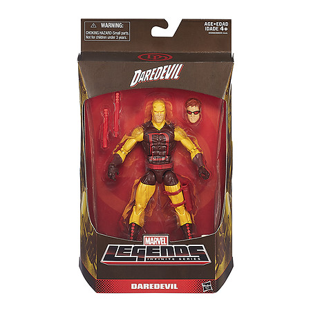 Hasbro Marvel Legends 6″ Yellow Daredevil Figure Listed On Entertainment Earth