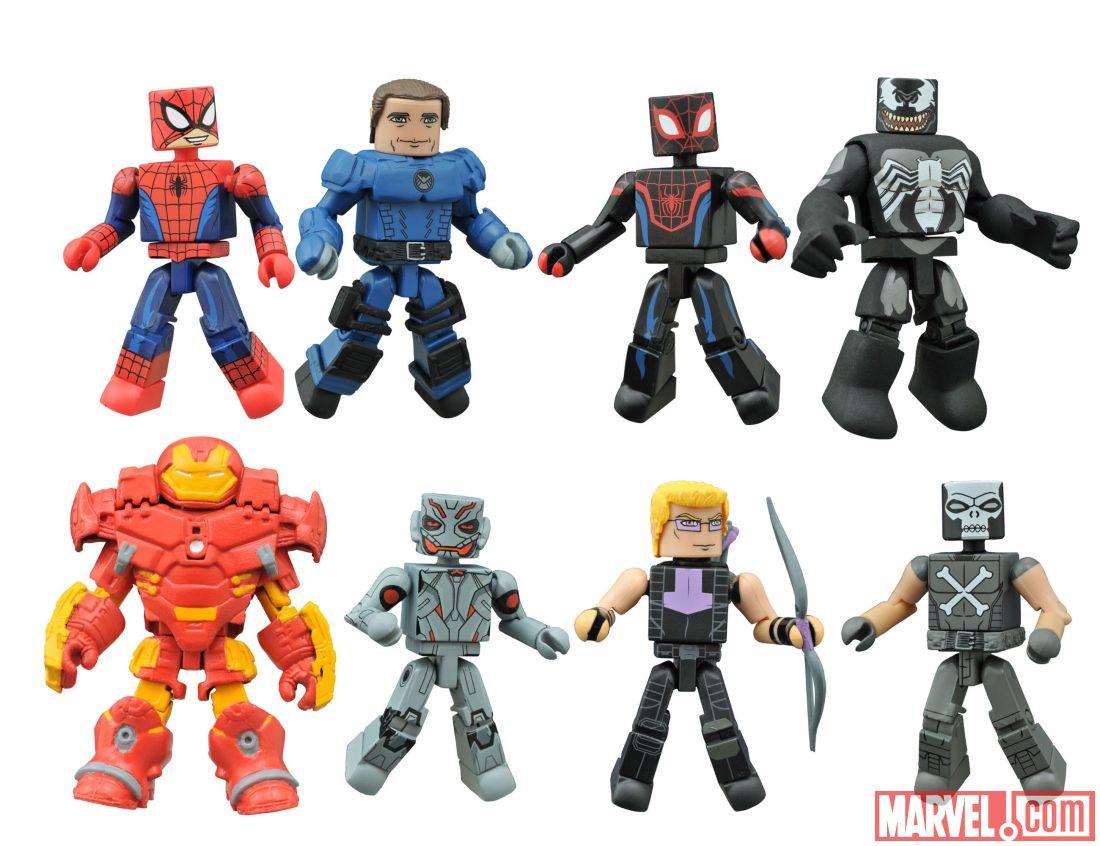 Walgreens Exclusive Marvel Animated Minimates Series 1.5