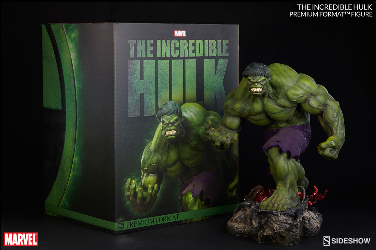 Sideshow Adds New Photos Of The Incredible Hulk Premium Format Figure