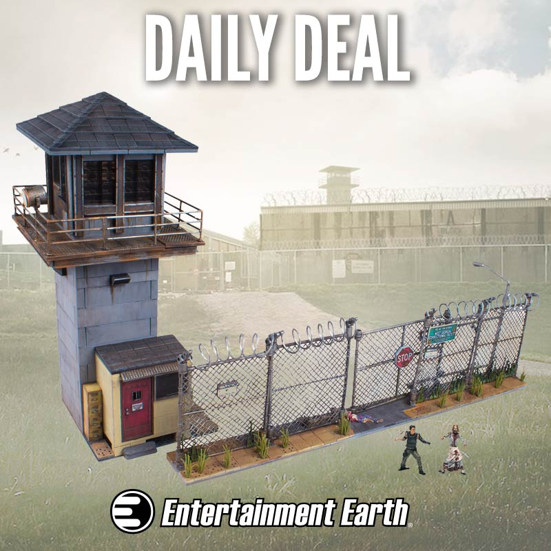 McFarlane Toys The Walking Dead Building Sets 20% Off At Entertainment Earth