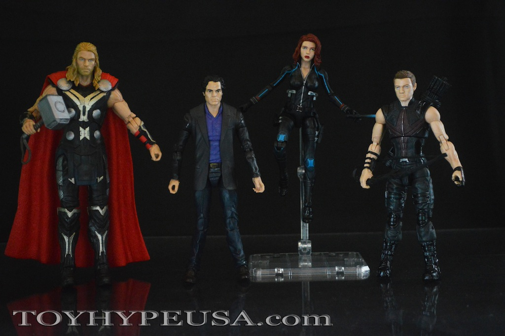Amazon Exclusive Hasbro Marvel Legends Avengers: Age Of Ultron 4 Pack Review