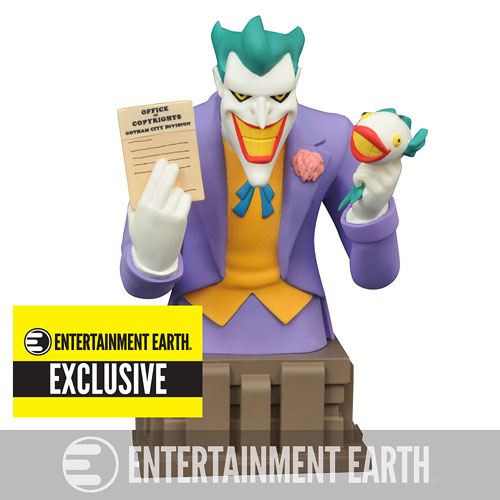 Batman: The Animated Series Laughing Fish Joker Bust – Entertainment Earth Exclusive