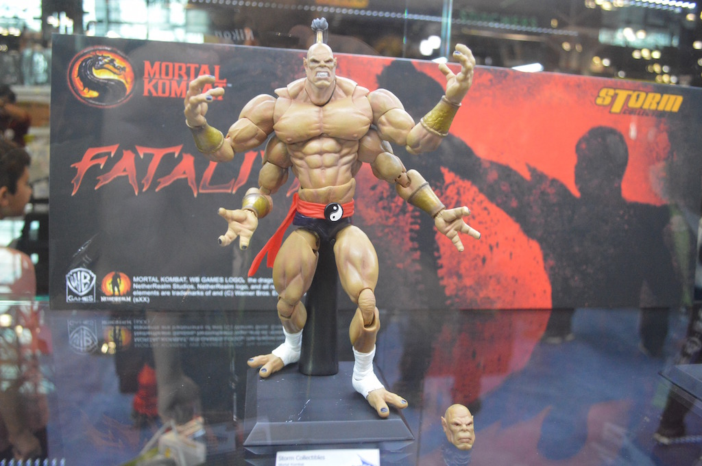 NYCC 2015 – Bluefin Storm Collectibles Mortal Kombat 1/12th Scale Figures