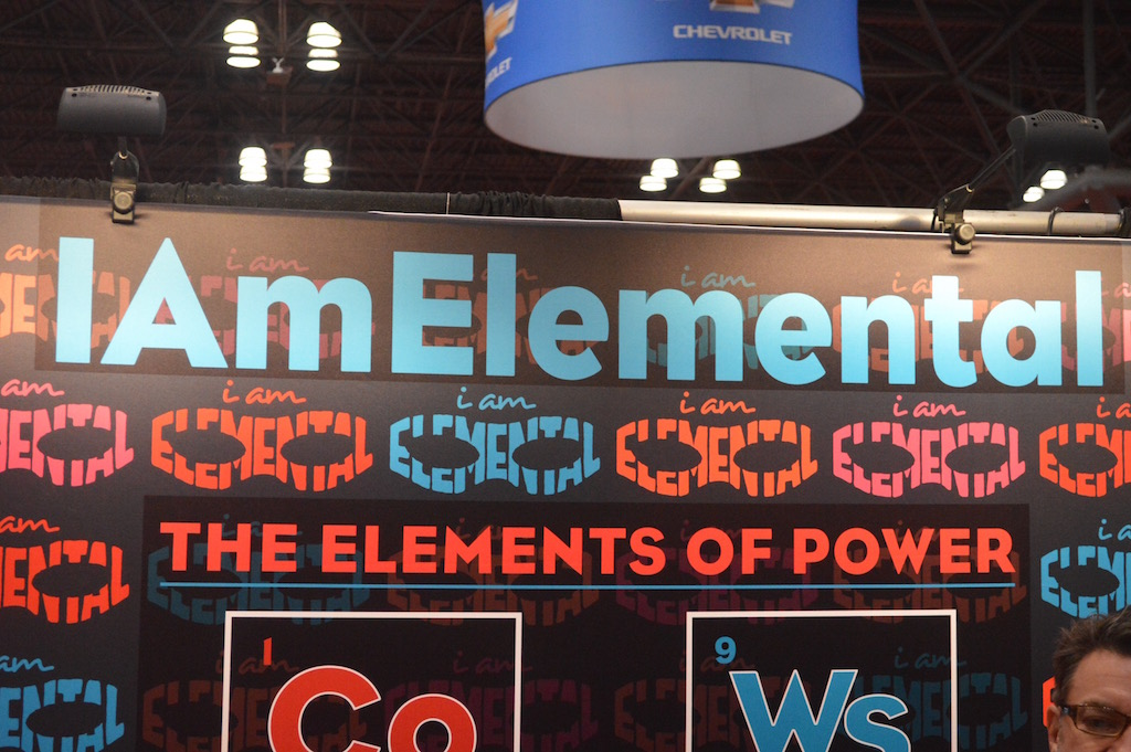 NYCC 2015 – I Am Elemental Booth Coverage