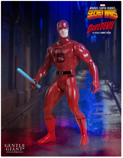 Daredevil Marvel Secret Wars Jumbo Sixth Scale Action Figure
