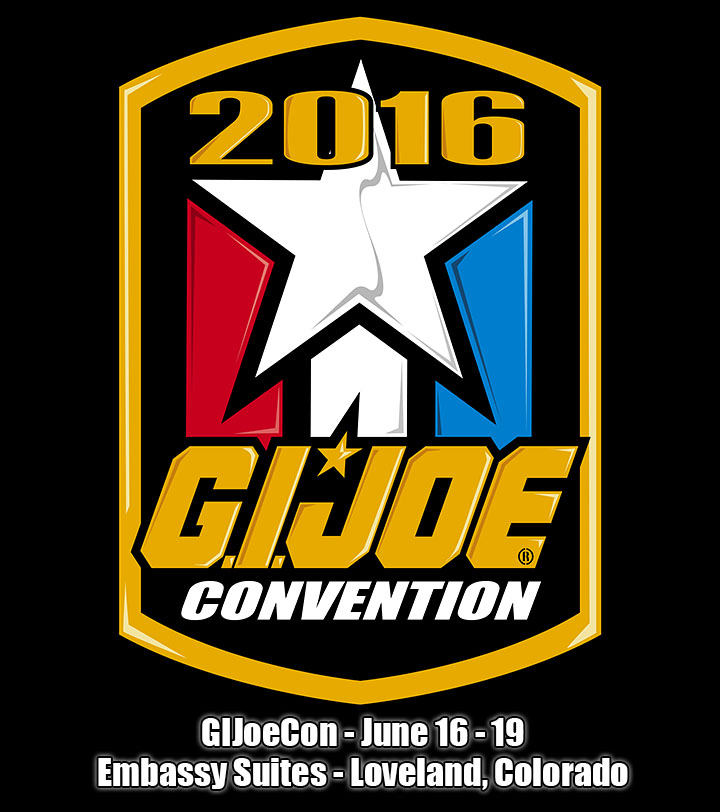 G.I. JoeCon 2016 To Be Held In Loveland, Colorado On June 16th-19th, 2016