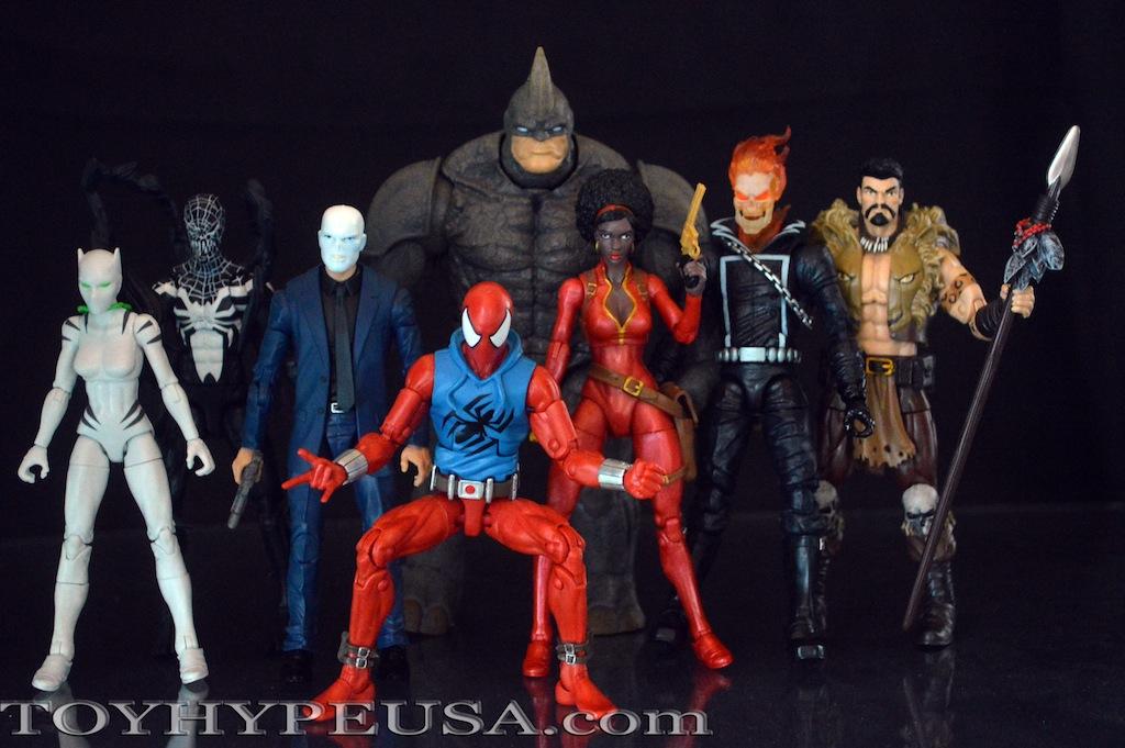 Hasbro Marvel Legends Spider-Man Infinite Series Rhino Wave Review