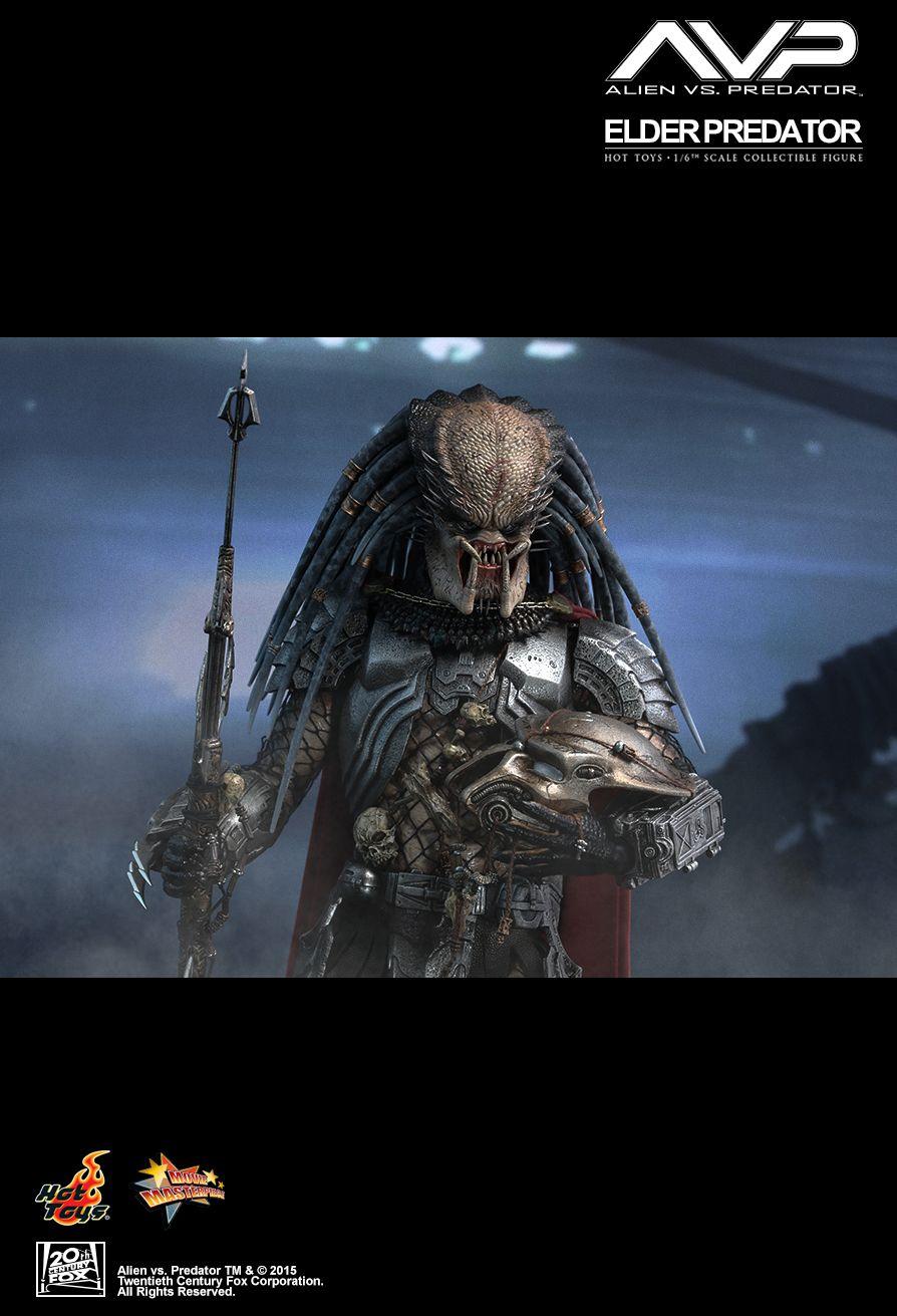 Hot Toys Alien Vs Predator Elder Predator V2 Sixth Scale Figure Pre-Orders