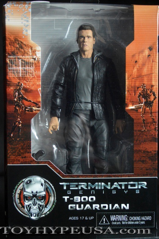 NECA Terminator Genisys T-800 Guardian Review