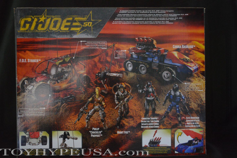 SDCC 2015 Exclusive Hasbro G.I. Joe Desert Duel Box Set Review