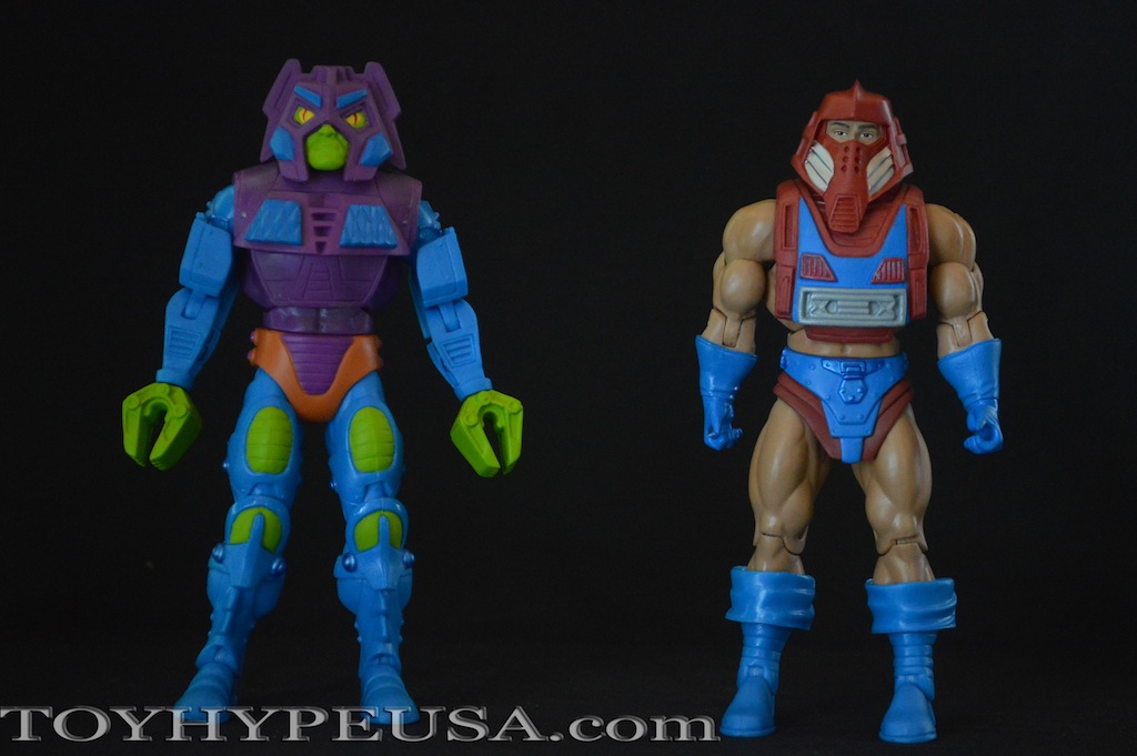 SDCC 2015 Exclusive Masters Of The Universe Classics Rotar Vs. Twistoid Review