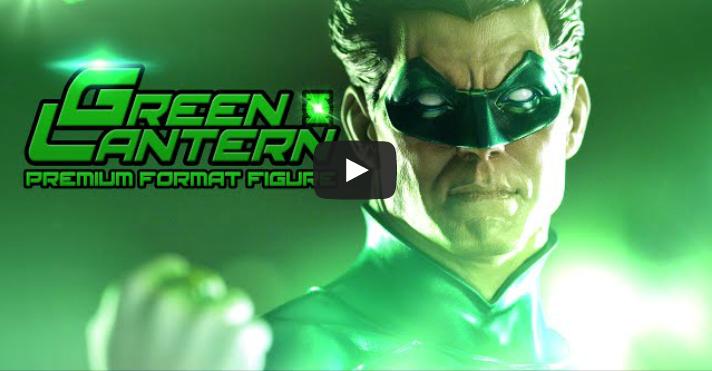 Sideshow Collectibles Green Lantern Hal Jordan Statue Video Preview