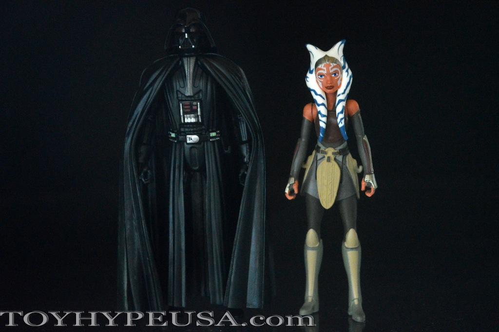 Star Wars Rebels Darth Vader & Ahsoka Tano 2 Pack Review