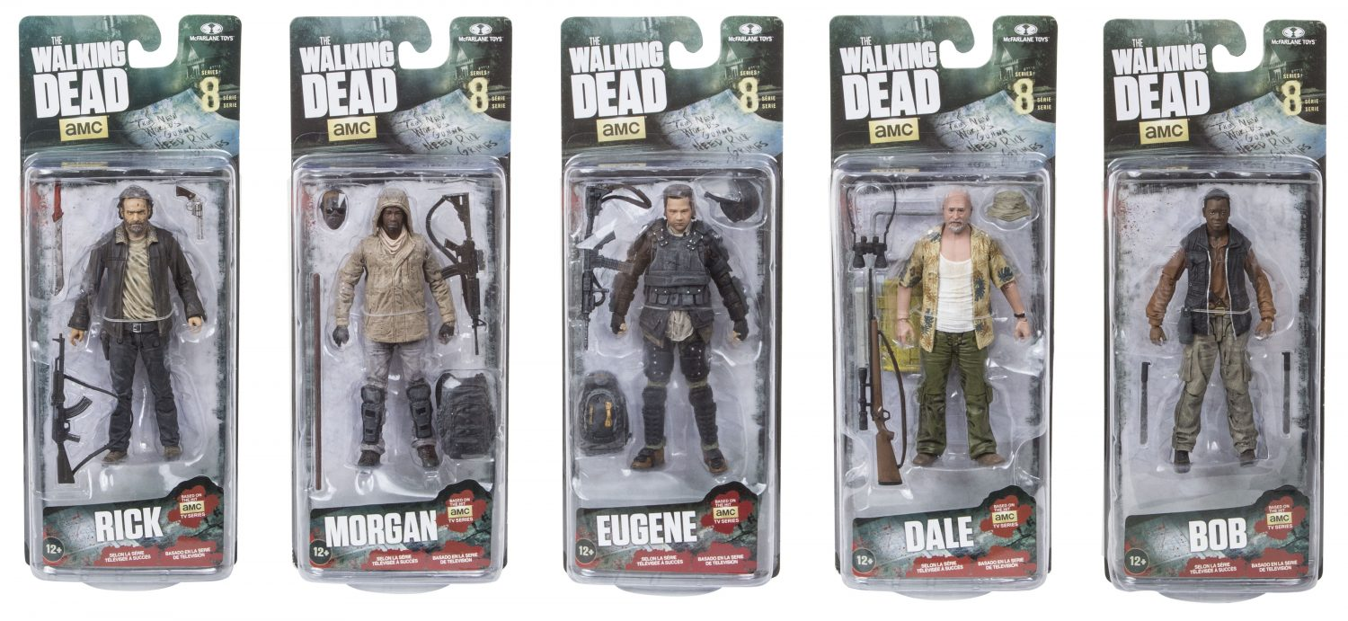 McFarlane Toys The Walking Dead TV Series 8 Official Press Images