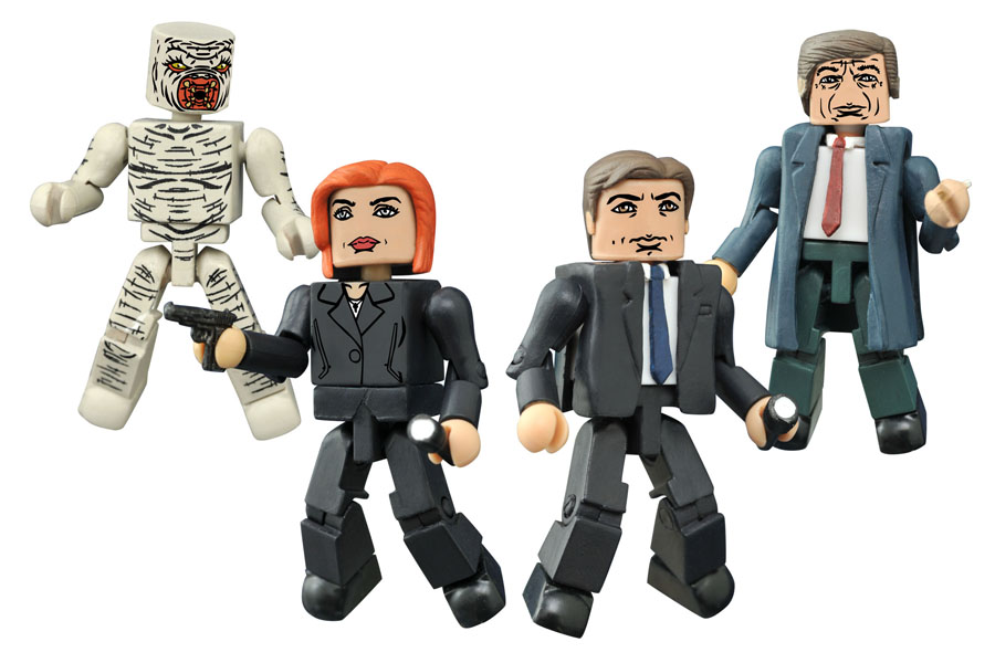 Diamond Select Toys Reveals X-Files Toy Plans For 2016