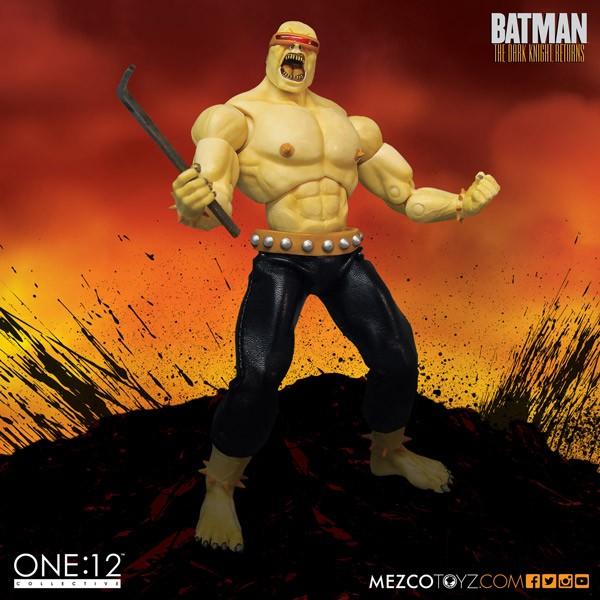 Mezco One:12 Collective-Mutant Leader Figure Details & Images