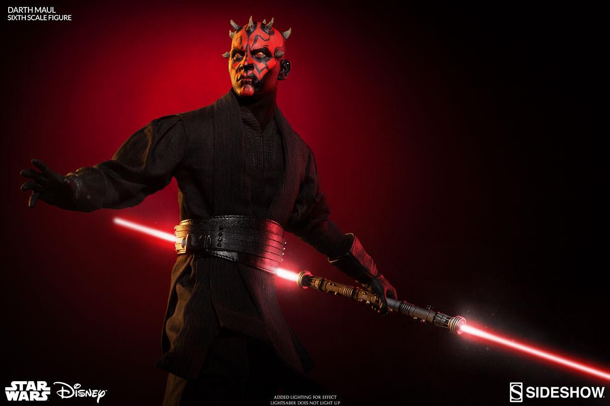 Sideshow Reveals Star Wars Episode I: The Phantom Menace Darth Maul Sixth Scale Figure