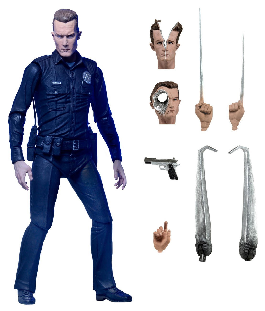 NECA Toys Reissues Terminator 2 Ultimate T-1000 Figure