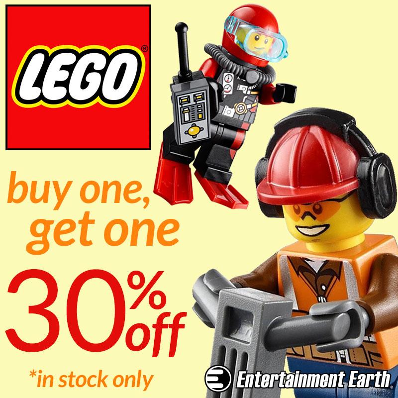 Entertainment Earth LEGO & Statue BOGO Sales Ends Tuesday, November 17th