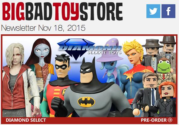 BBTS News: DC, Marvel, Star Wars, Transformers, Aliens, Final Fantasy, MMPR, TMNT & More