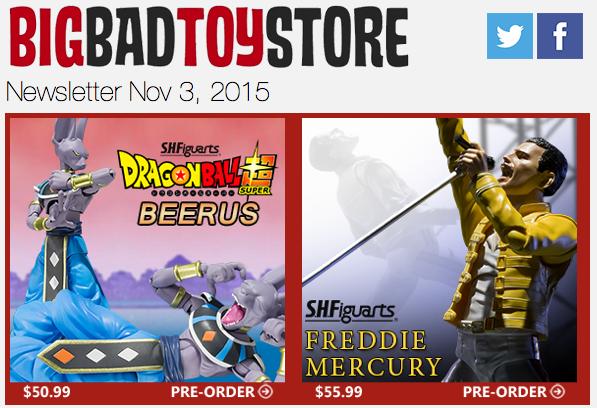 BBTS News: Dragon Ball, Terminator, Star Wars, Walking Dead, Transformers, Street Fighter, DC & More