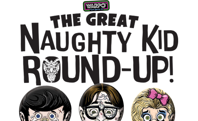 Calling All Krampus! Warpo Announces The Great Naughty Kid Round-Up